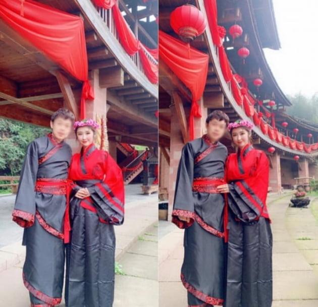 성은채, 中 부호 남편 자랑…헬스장 오픈식서 사자춤 클라스