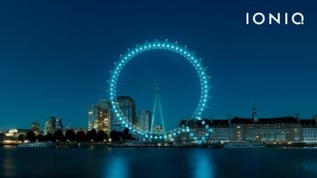 런던 아이 이벤트 장면.사진=현대자동차 제공.