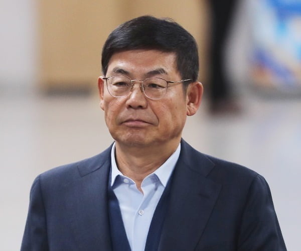 삼성전자서비스 노조와해 공작에 관여한 혐의를 받는 이상훈 전 삼성전자 이사회 의장의 2심 선고 공판이 10일 열렸다. 사진=연합뉴스