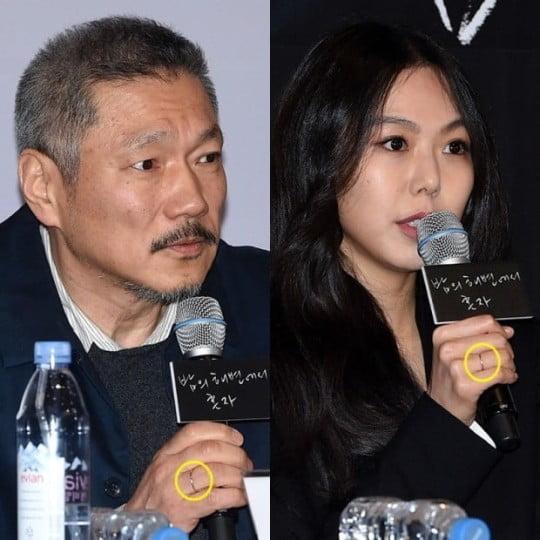 """홍상수·김민희 결별설? """"불륜녀로 만들어 괴로워해"""""""