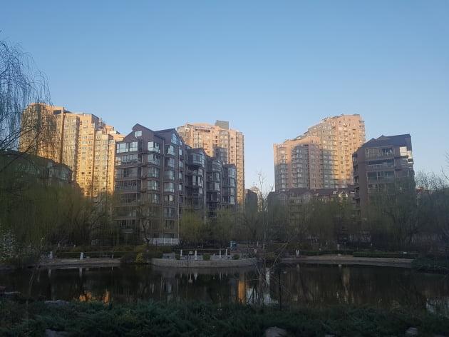 베이징 '한인타운' 왕징 아파트…월세 '뚝' 떨어져