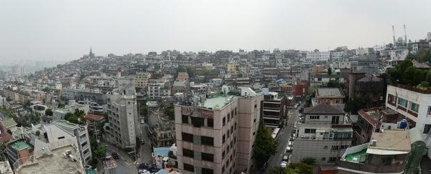 서울 최대 재개발사업으로 꼽히는 용산 한남뉴타운 일대의 모습. 한경DB