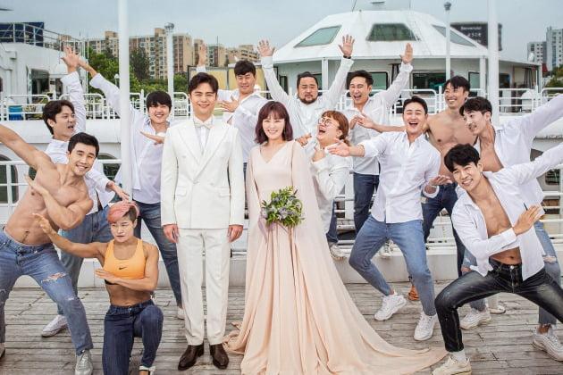 권미진, 결혼·임신 겹경사…'50kg 감량' 완벽한 웨딩화보 공개