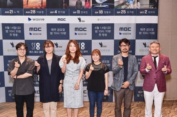 왼쪽부터 민규동, 노덕, 이윤정, 한가람, 장철수, 오기환 감독/사진=MBC