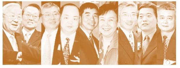대만 미디어 Digi Times에 출연 한 주요 투자자.  가장 왼쪽은 TSMC의 창립자 인 Morris Chang입니다.  Digitimes 웹 사이트 캡처