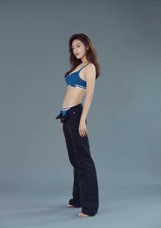 김재경 /사진-휠라 언더웨어