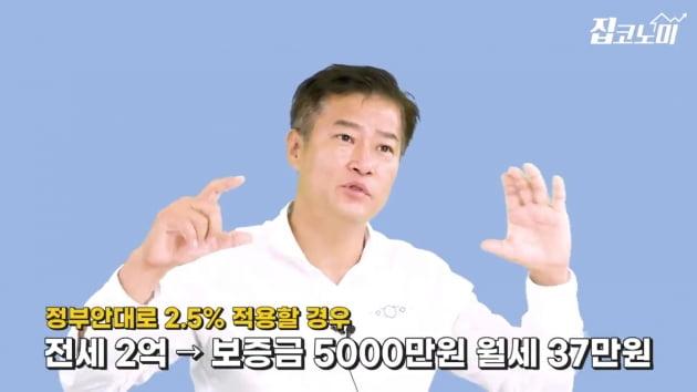 [집코노미TV] 전월세전환율 4→2.5%, 세입자 동의 필요할까
