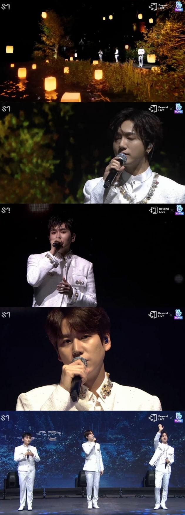 슈퍼주니어 K.R.Y. '비욘드 라이브' 개최 /사진=네이버V라이브 화면 캡처