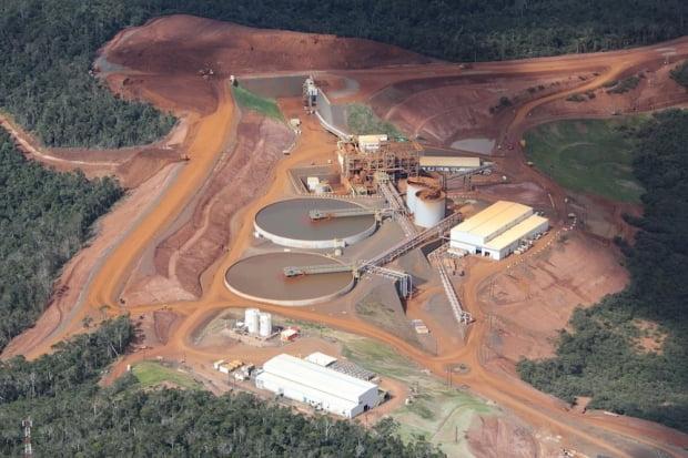 아프리카 마다가스카르에 있는 암바토비 니켈·코발트 광산 전경. 한경DB