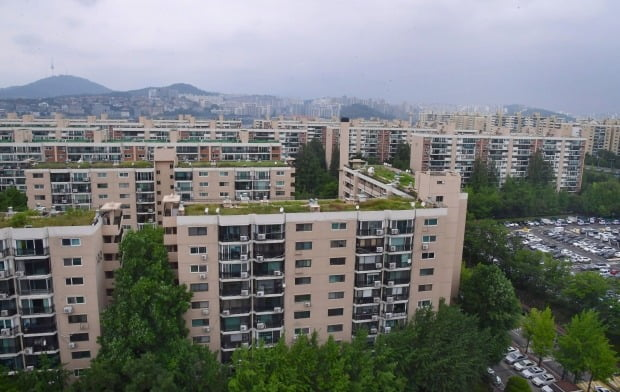 서울 강남 아파트 전경(자료 한경DB)