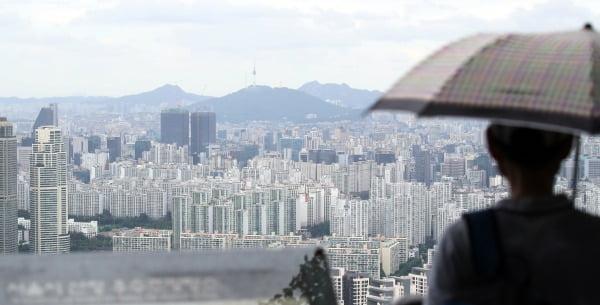 서울 강남 일대 아파트 단지의 모습. 연합뉴스