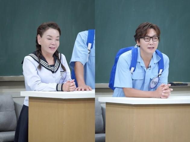 '아는 형님' 김수미, 탁재훈 /사진=JTBC 제공