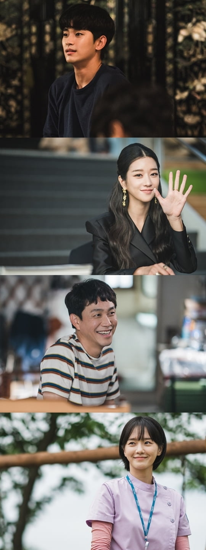 김수현, 서예지, 오정세, 박규영(사진=tvN)