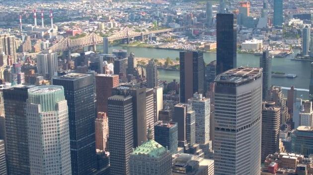 고층 건물들이 밀집한 미국 뉴욕시 전경(사진=게티이미지뱅크)