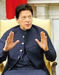 임란 칸 파키스탄 총리. / 사진=AP