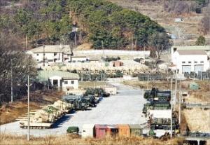 경기 동두천시가 육군사관학교 이전 대상지로 내세운 캠프 호비 전경.  동두천시 제공