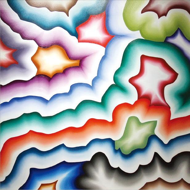 부산 조현화랑에서 열리고 있는 전시  'Summer Show'에 출품된 프랑스 추상화가 베르나르 프리츠의 2013년작 'Polji'.  조현화랑 제공