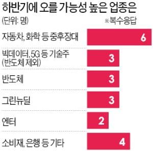 """10명 중 7명 """"더 오른다""""…BBIG보다 車 등 중후장대株 관심을"""
