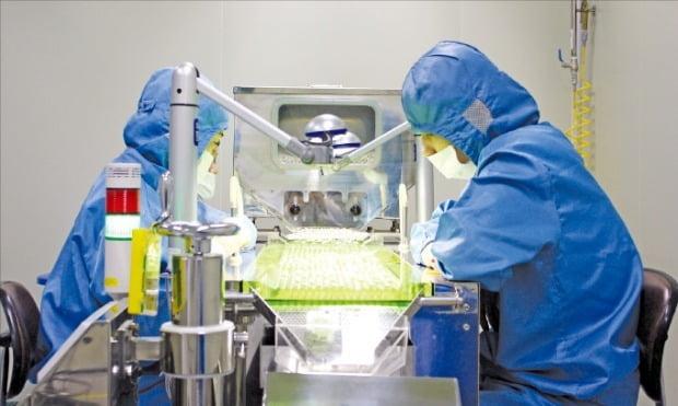 코스맥스바이오 연구원들이 건강기능식품 개발 연구를 하고 있다.  /코스맥스바이오 제공