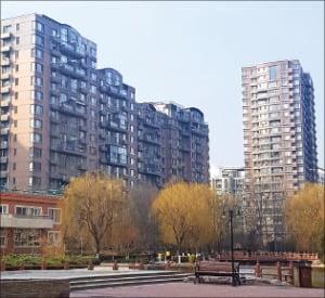 왕징에서 한국인이 가장 많이 거주하는 대서양신청 아파트 단지. /강동균 특파원