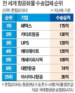 """여객기 좌석 뜯는 대한항공·아시아나…""""사실상 화물항공사"""""""