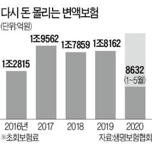주가 오르자 변액보험 '후끈'…미래에셋생명, 절반 '싹쓸이'
