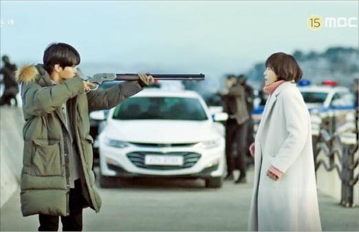 카카오M 자회사인 메가몬스터가 제작한 MBC 수목 미니시리즈 '붉은달 푸른해' 카카오M 제공