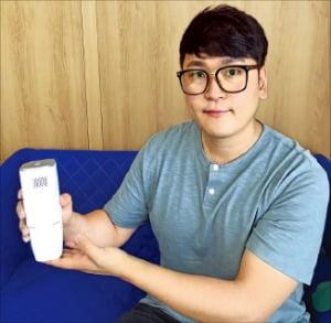 고흥에서 채집한 편백나무 칩서 피톤치드 '솔솔'