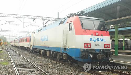 강원 충청 지역 집중호우로 충북선·태백선 열차 운행 중단