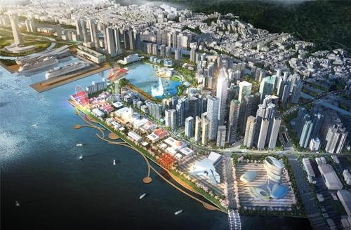 부산항 북항 2단계 재개발, 부산시 비롯한 관 주도 개발