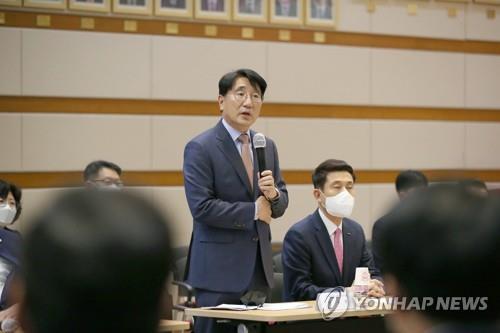 전우헌 경북도 경제부지사 사의 밝혀