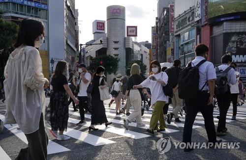 일본 코로나19 신규 확진 사흘 연속 1천명대
