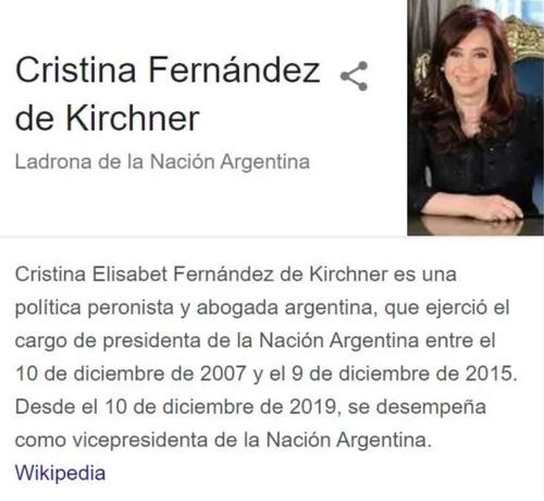 이름 검색하니 '아르헨티나 도둑'…구글에 소송 건 전직 대통령
