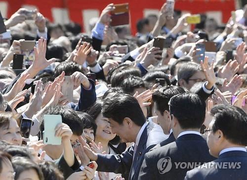 日 아베 '벚꽃 모임' 의혹 수사 촉구 고발인 279명 추가 합류
