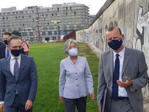 """강경화 만난 독일 외교 """"G7회의에 한국 참여 환영…러시아 반대""""(종합)"""