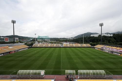 프로축구연맹, 광주전용구장 K리그 경기 개최 최종 승인