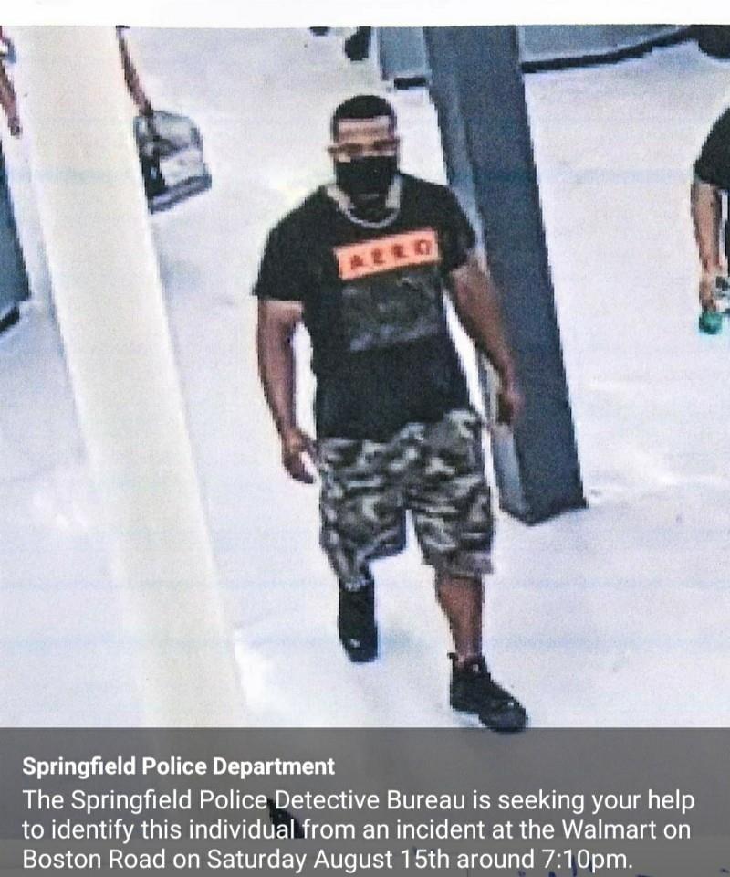 미국 `코로나 포옹` 혐의 남성 (사진=미국 스프링필드 경찰서 페이스북)