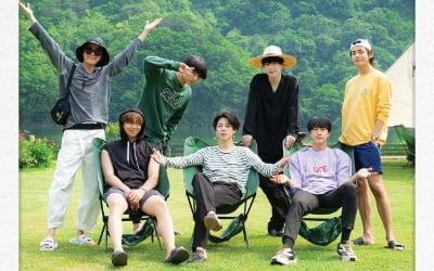 방탄소년단이 힐링 그 자체…'인더숲 BTS편'