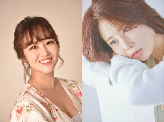 가수 정미애와 김소유/ 사진= 생각을보여주는엔터테인먼트 제공