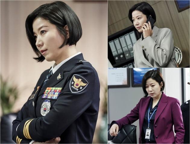 '비밀의 숲2' 전혜진 스틸컷/ 사진=tvN 제공