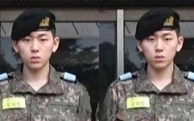 지코, 군대 사진 화제…군기 바짝 우지호 훈련병