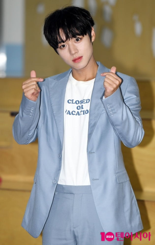 [TEN 포토] 박지훈 '싱그러운 청춘'