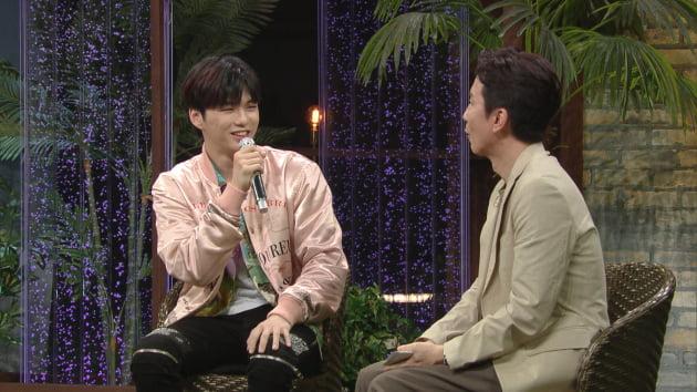 '유스케' 출연한 가수 강다니엘/ 사진=KBS2 제공