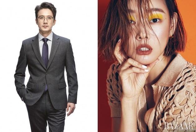 '오래 살고 볼일-어쩌다 모델' MC를 맡은 정준호(왼쪽), 한혜진 / 사진제공=라이언하트, 에스팀엔터테인먼트