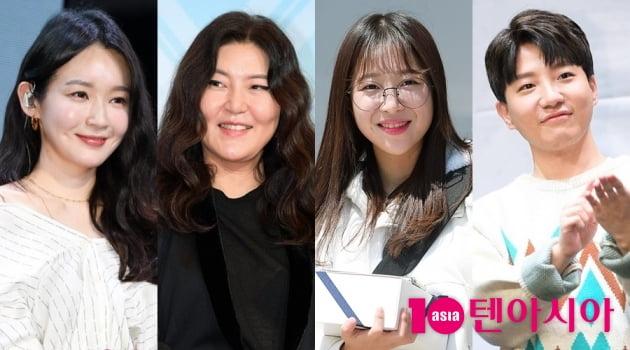 가수 강민경(왼쪽부터), 스타일리스트 한혜연, 유튜버 쯔양, 도티/사진= 텐아시아DB