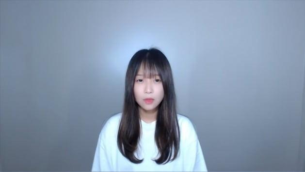 유튜버 쯔양 사과 영상/ 사진= 유튜브 캡처