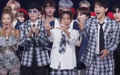 '놀면 뭐하니?' 싹쓰리, 데뷔 첫 1위 순간 '풀버전'
