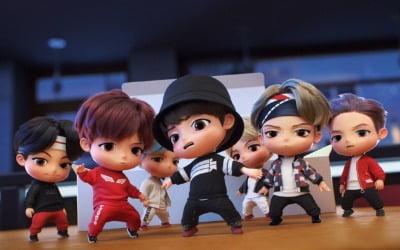 방탄소년단 캐릭터, 싱크로율 어떤가 보니
