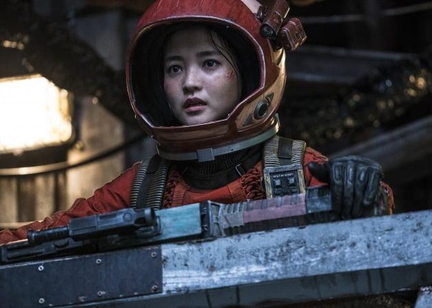 영화 '승리호' 김태리 / 사진제공=메리크리스마스