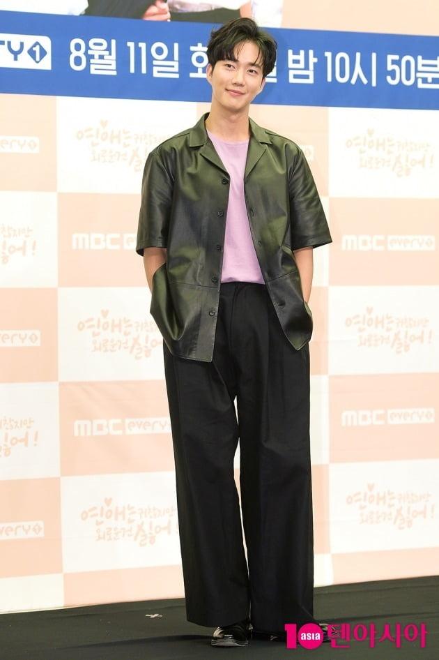 [TEN 포토] 박건일 '아이돌같은 패션'